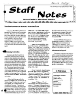 Staff Notes Volume 24 Issue 51