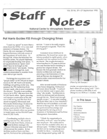 Staff Notes Volume 25 Issue 39