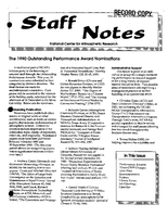 Staff Notes Volume 25 Issue 49