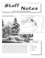 Staff Notes Volume 29 Issue 2