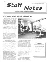 Staff Notes Volume 29 Issue 12
