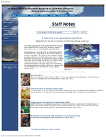 Staff Notes Volume 43 Issue 5