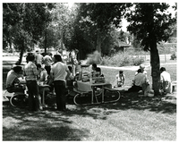 Photograph, group picnic