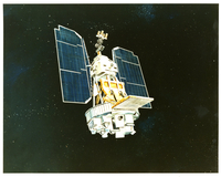 Drawing, Nimbus satellite