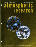 Facilities for Atmospheric Research, December 1968