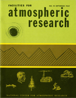 Facilities for Atmospheric Research, September 1969