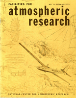 Facilities for Atmospheric Research, December 1970