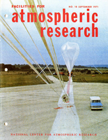 Facilities for Atmospheric Research, September 1971
