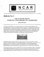 RAF Bulletin 2: The NCAR/NSF WB-57F, overview and summary of capabilities (updated 1997)
