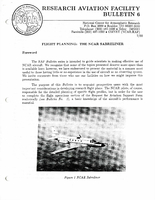 RAF Bulletin 6: Flight planning, the NCAR Sabreliner