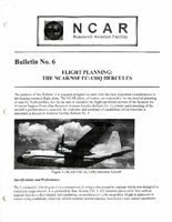 RAF Bulletin 6: Flight planning, the NCAR/NSF EC-130Q Hercules