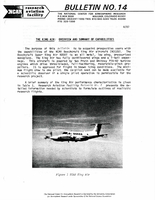 RAF Bulletin 14: The King Air, overview and summary of capabilities (1987)