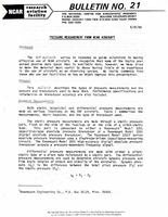 RAF Bulletin 21: Pressure measurement from NCAR aircraft (1986)