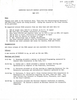 Computing Facility Monthly Activities Report May 1975