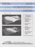 SCD Computing News Volume 12 Issue 7