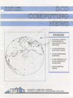 SCD Computing News Volume 9 Issue 8