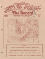 Record Newsletter of the Scientific Computing Division Volume 8 Issue 5