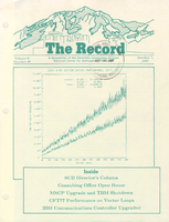 Record Newsletter of the Scientific Computing Division Volume 8 Issue 10
