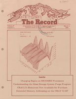 Record Newsletter of the Scientific Computing Division Volume 8 Issue 3