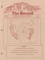 Record Newsletter of the Scientific Computing Division Volume 8 Issue 6
