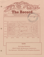 Record Newsletter of the Scientific Computing Division Volume 7 Issue 5