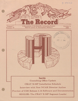 Record Newsletter of the Scientific Computing Division Volume 7 Issue 10