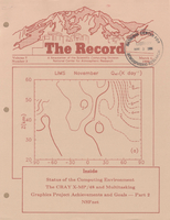 Record Newsletter of the Scientific Computing Division Volume 7 Issue 3