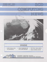 SCD Computing News Volume 12 Issue 2