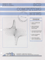 SCD Computing News Volume 12 Issue 3