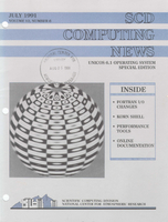 SCD Computing News Volume 12 Issue 6