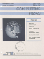 SCD Computing News Volume 12 Issue 10