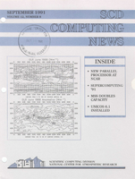 SCD Computing News Volume 12 Issue 8