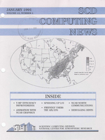 SCD Computing News Volume 12 Issue 1