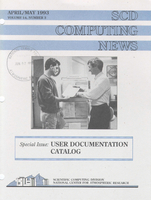 SCD Computing News Volume 14 Issue 3