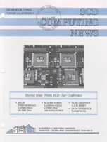 SCD Computing News Volume 14 Issue 4