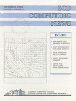 SCD Computing News Volume 9 Issue 10