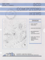 SCD Computing News Volume 11 Issue 5