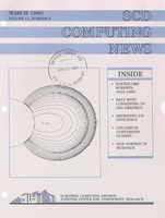 SCD Computing News Volume 11 Issue 3