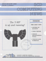 SCD Computing News Volume 11 Issue 7