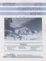SCD Computing News Volume 11 Issue 11