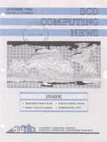 SCD Computing News Volume 11 Issue 9