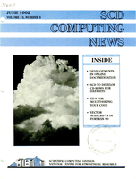 SCD Computing News Volume 13 Issue 5