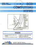 SCD Computing News Volume 13 Issue 3