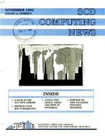 SCD Computing News Volume 13 Issue 8