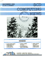 SCD Computing News Volume 13 Issue 9