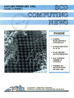 SCD Computing News Volume 13 Issue 1