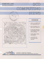 SCD Computing News Volume 10 Issue 2