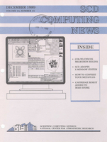 SCD Computing News Volume 10 Issue 10