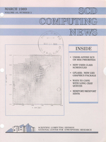 SCD Computing News Volume 10 Issue 3