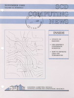 SCD Computing News Volume 10 Issue 9